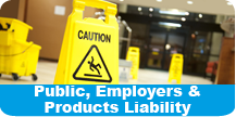 public employers products liability
